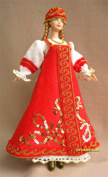 Для вязания одежды для кукол барби по