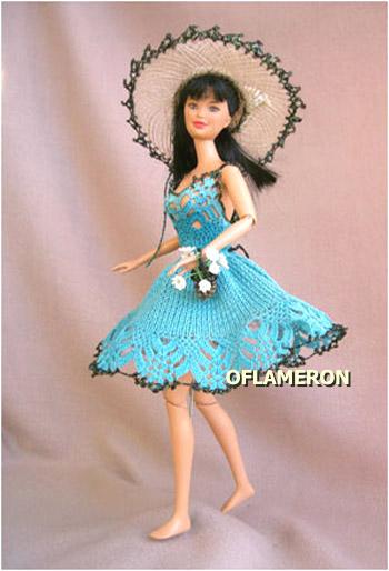 одежды для кукол Барби?